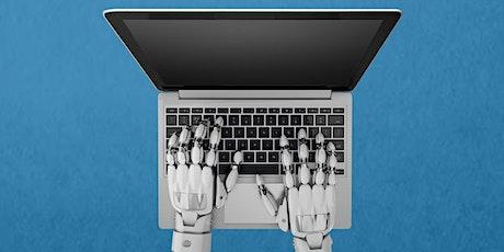 Webinar: Van handjes naar hersenen, de inzet van slimme software robots tickets