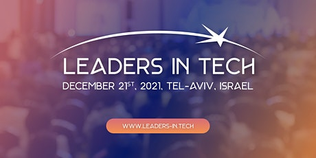 Leaders In Tech Conference tickets