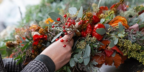 Create your own beautiful wreath and help protect dogs worldwide tickets