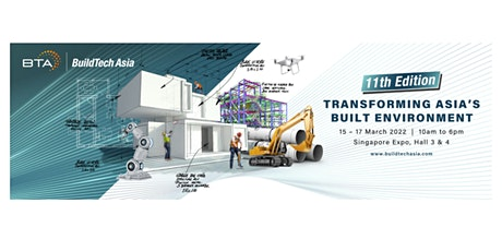 BuildTech Asia 2022 tickets