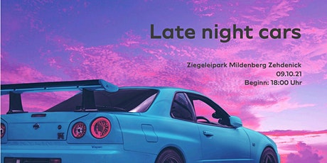 Late Night Cars Tickets