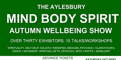Aylesbury Mind Body Spirit Show tickets