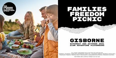 #FreedomsNZ - Gisborne stand tickets