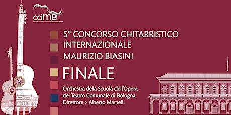 Finale 5° Concorso Chitarristico Internazionale Maurizio Biasini biglietti