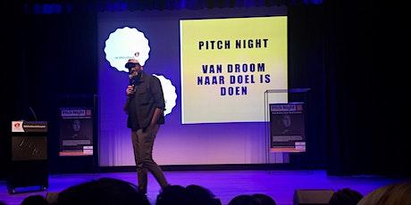 Pitch Night Van Droom naar Doel is Doen tickets