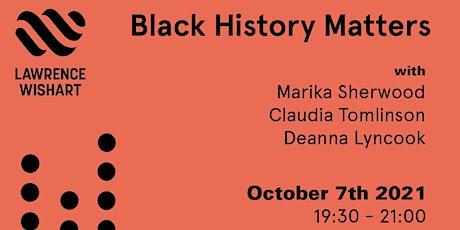 Black History Matters tickets
