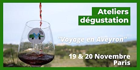 Voyage en Aveyron billets