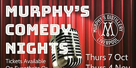 Murphy's Distillery & Bar Comedy Night - 2nd December tickets
