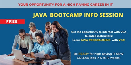 JAVA Programming  IT certification course | Info Session tickets