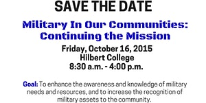 Military in Our Communities: Continuing the Mission