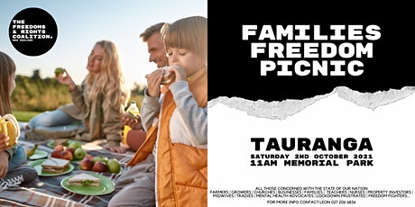 #FreedomsNZ - Tauranga stand tickets