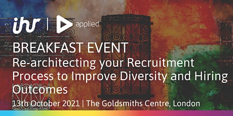 Re-architecting your Recruitment Process to Improve Diversity tickets