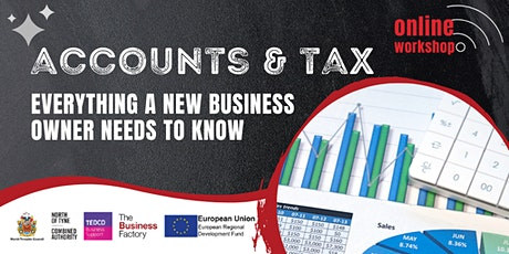 Dealing with Accounts and Tax – 9.30am tickets