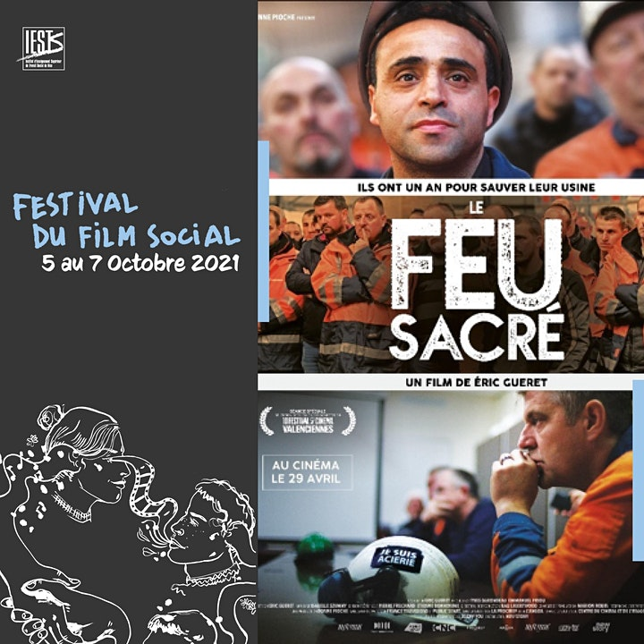 Image pour Le feu sacré d'E.Guéret - Cinémathèque 05 oct. 20h
