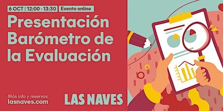 """Presentación online del """"Barómetro de la Evaluación de Políticas Públicas"""" entradas"""