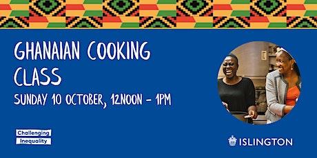 Ghanaian cooking class tickets