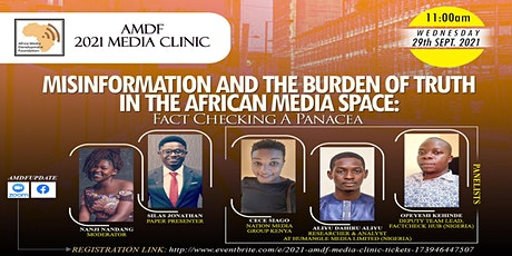 2021 AMDF Media Clinic (Online/Zoom) Tickets