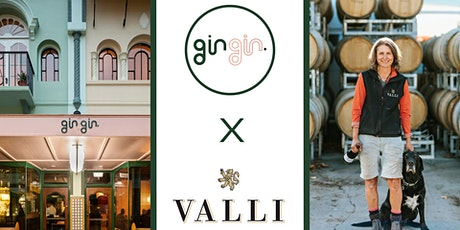VALLI Wine x gin gin. dinner with Jen Parr tickets