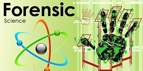 Forensic Science: Free webinar tickets