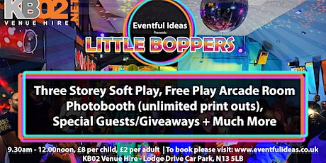 LITTLE BOPPERS PLAY & PARTY tickets
