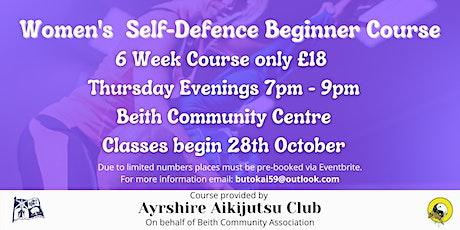 Women's Self-defence Class tickets