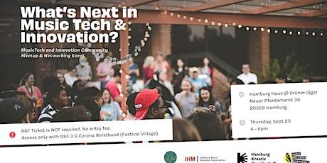 1st Hamburg MusicTech & Innovation Meetup  - RBF 2021 Tickets