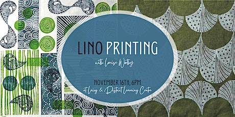 Lino Printing with Louise Worthy tickets