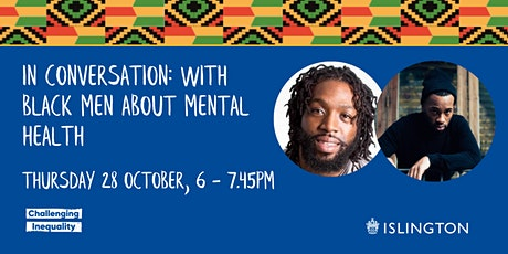 In Conversation: with Black Men about Mental Health tickets