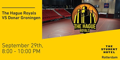 The Hague Royals VS Donar Groningen tickets