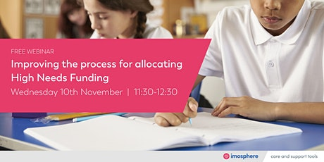 Improving the process for allocating High Needs Funding tickets