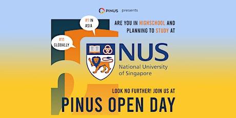 PINUS Open Day 2021 tickets