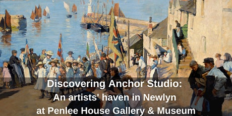 Discovering Anchor Studio. FREE Guided Tour tickets