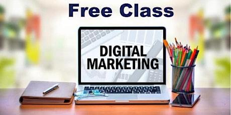 Digital Marketing Free Class tickets