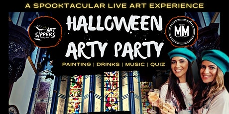 ART SIPPERS – HALLOWEEN SPECIAL EXPERIENCE SHOW tickets