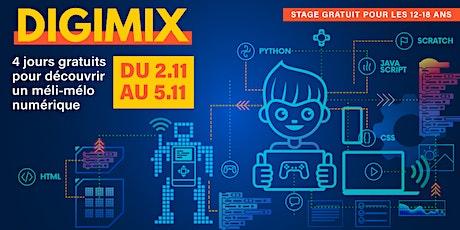 Digimix | Stage d'automne pour les 12-18 ans | Gratuit billets