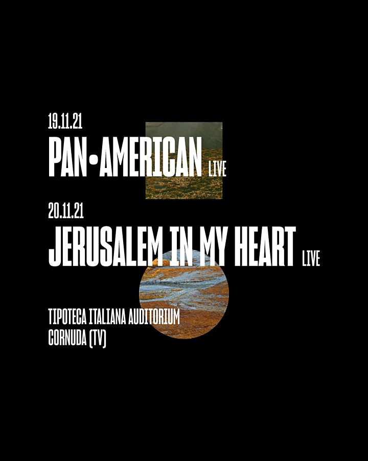Immagine Abbonamento JIMH + Pan•American live X TUNDRA @ Tipoteca Italiana