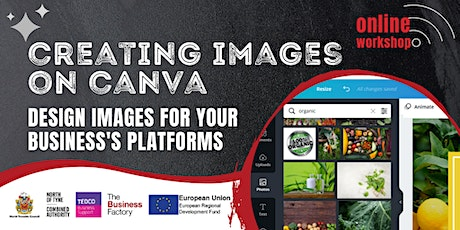 Creating Images on Canva – 1pm tickets
