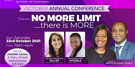 Women of Faith Today Annual Conference 2021- NO MORE LIMIT.. there is more! tickets
