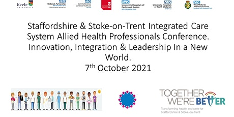 Staffordshire & Stoke on Trent ICS AHP Virtual Conference tickets