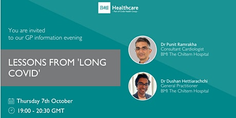 Lessons From 'Long Covid'  - Talk by Dr P Ramrakha & Dr D Hettiarachchi tickets