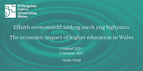 Economic impact of higher education in Wales: report launch tickets