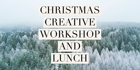 Creative Christmas Ceramics/Craft Workshop with lunch tickets