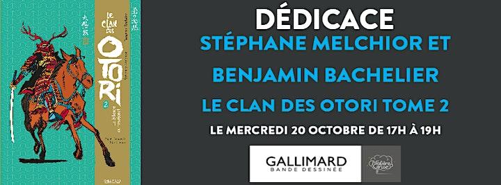 Image pour Dédicace de Benjamin Bachelier et Stéphane Melchior - Le Clan des Otori T2