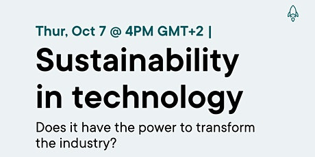 Sustainability in technology tickets