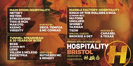 15 Years of Hospitality Bristol tickets