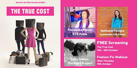 Screening - The True Cost and Fashion Fix Discussion tickets
