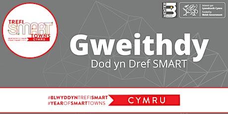 Gweithdy Dod yn Dref SMART (Sesiwn Cymraeg) tickets