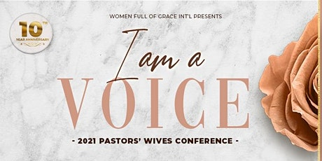 2021 Pastors' Wives Conference tickets