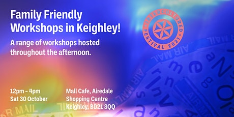 Creative Arts Workshop with Jane!: One World, One Love, Keighley tickets