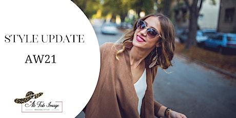 Seasonal Style Update Autumn Winter 2021 tickets